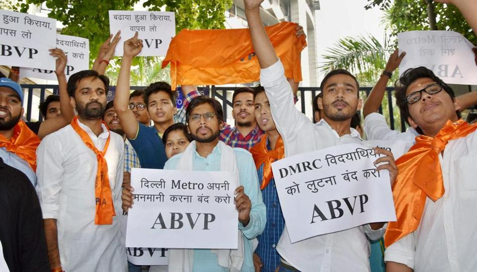 ABVP,AVBP protest,Kerala cho