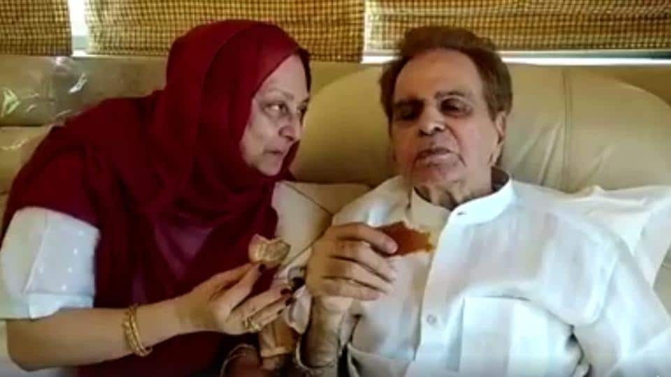Saira Banu Serves Tea And Biscuits To Dilip Kumar