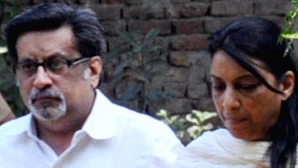 Rajesh Talwar and his wife Nupur Talwar.