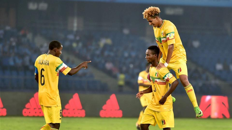 Mali's Djemoussa Traore was in top form as Mali routed New Zealand 3-1 (PTI)