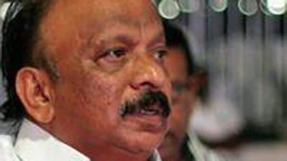 Urban development minister of Karnataka R Roshan Baig.