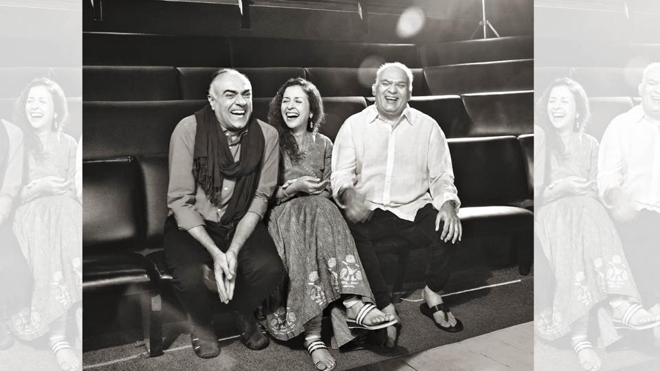 As Rajit Kapoor, Shernaz Patel and Rahul da Cunha's theatre group Rage, turns 25, HTBrunch joins the celebrations with a rare photoshoot of the trio inside the haloed green room of Prithvi Theatre (Prabhat Shetty)