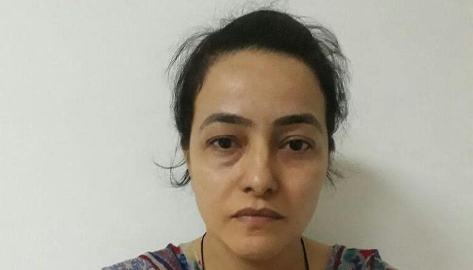 Honeypreet was arrested from Zirakpur-Patiala road in Punjab on October 3