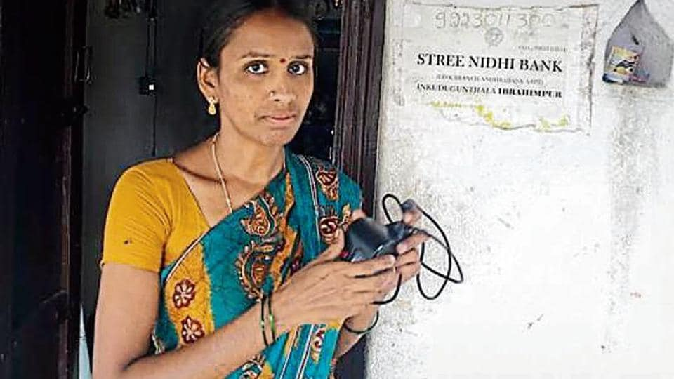 With no ATMs, villagers make do with the facility called Stree Nidhi Bank to withdraw money. The facility is run by S Devalatha (pic) to assist women self-help groups.