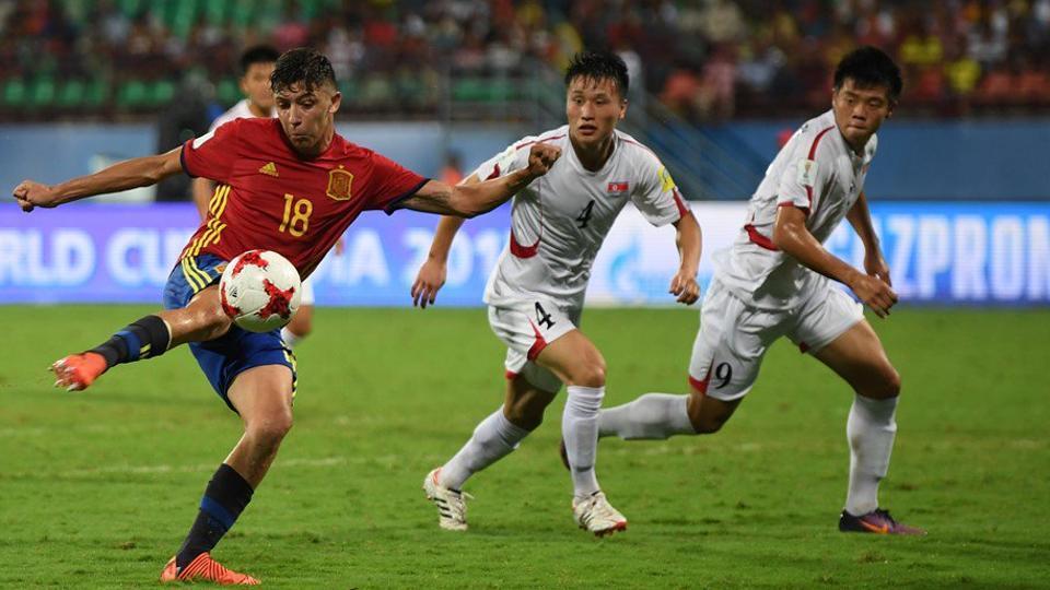 FIFA U-17 World Cup,Spain U-17 national football team,North Korea U-17 national football team