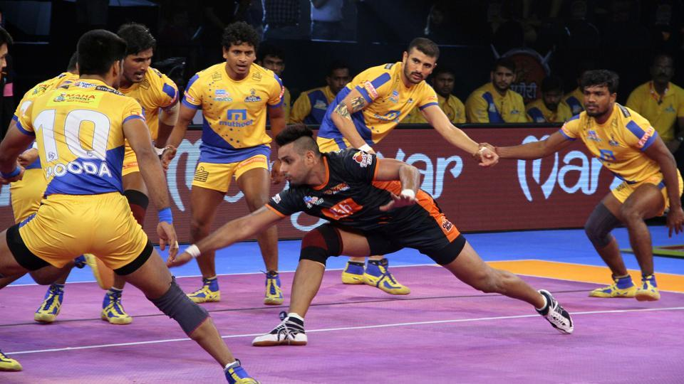 Pro Kabaddi League,Bengal Warriors,Gujarat Fortunegiants