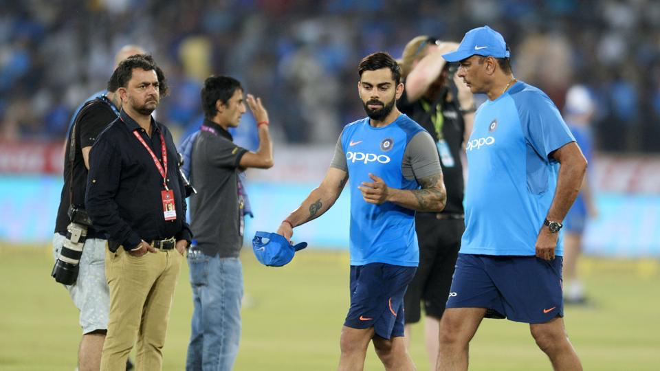 The third and deciding T20 international between India and Australia was called off due to a wet outfield. The three-match series ended 1-1. Get highlights of India vs Australia 3rd T20 here.