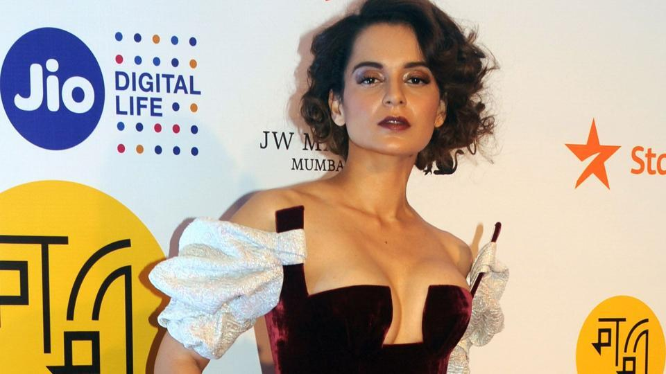 Kangana Ranaut attends the opening ceremony of the Jio MAMI 19th Mumbai Film Festival in Mumbai.