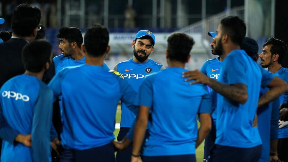 India won the rain-truncated first match in Ranchi by nine wickets, while Australia squared the series with a eight-wicket victory in Guwahati on Tuesday. (BCCI)