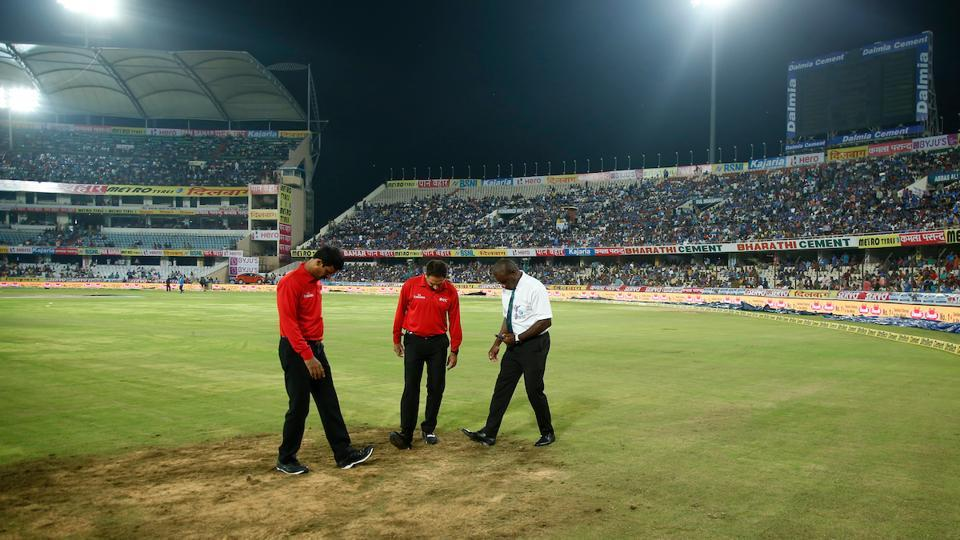 The cancellation will be remembered as a bad advertisement for Hyderabad Cricket Association, which could not get the ground ready despite no rain for the major part of the last two days. (BCCI)