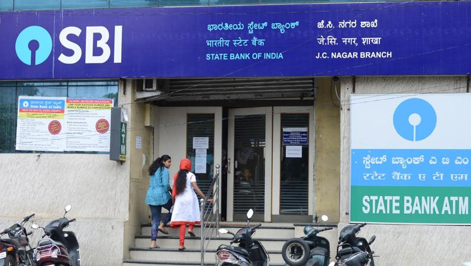 A branch of the State Bank of India.