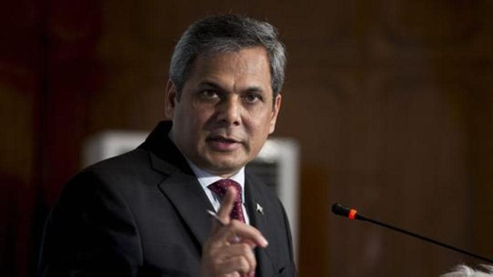 Pakistan's foreign ministry spokesman Nafees Zakaria briefs media at the Foreign Office in Islamabad, Pakistan on May 18.