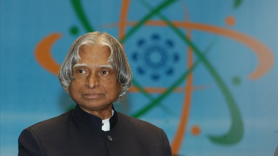 Dr. APJ Abdul Kalam at the concluding day of the 'Pravasi Bhartiya Diwas', a meeting of peoples of Indian origin from across the world in New Delhi, 2007. He was closely involved in the country's civilian space programme and military missile development efforts, earning him the sobriquet 'India's Missile Man'. (Arvind Yadav / HT Photo)