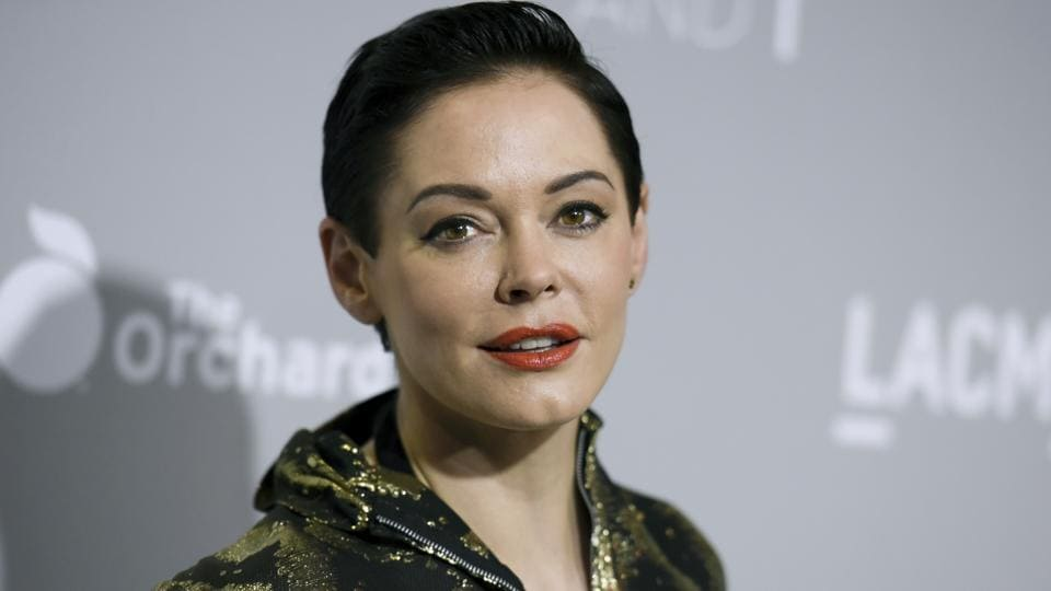 Rose McGowan's Twitter account was suspended, temporarily muting a central figure in the allegations against Harvey Weinstein. McGowan said Thursday.
