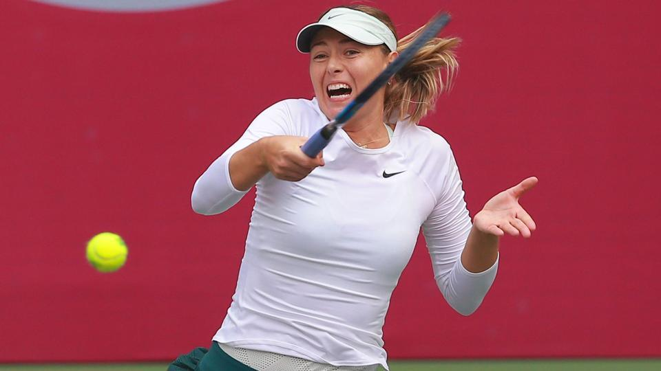 Maria Sharapova,Stefanie Voegele,Tianjin Open