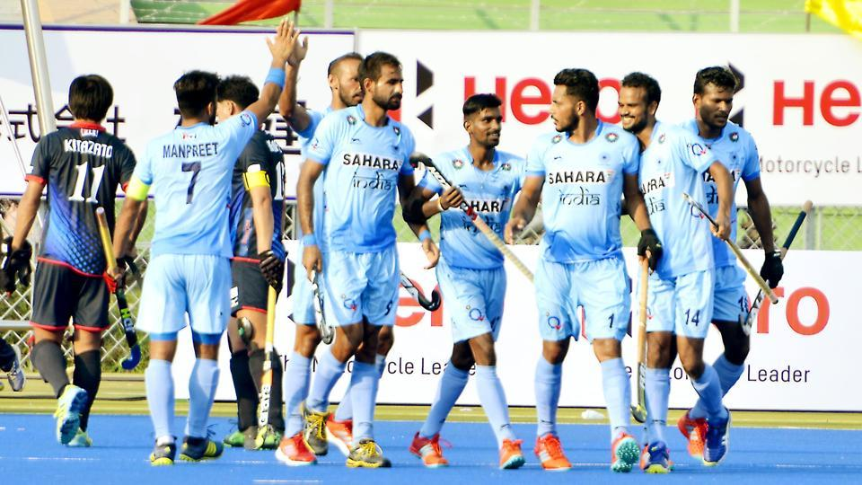 Live streaming of the Asia Cup hockey match between India vs Pakistan on Sunday was available online. India beat Pakistan 3-1. Harmanpreet Singh, Ramandeep Singh, Chinglensana Singh scored for the winners.