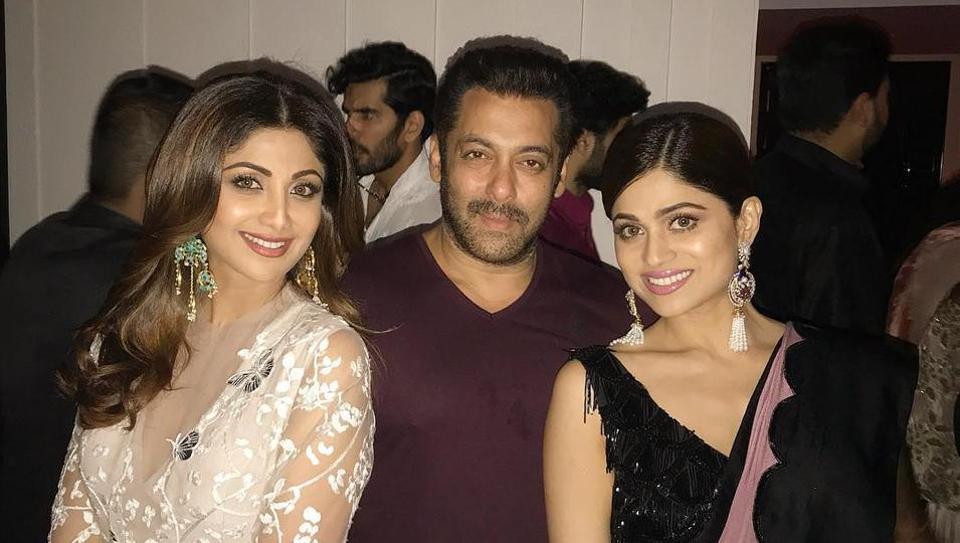 Salman Khan, Katrina Kaif, Shah Rukh Khan attend Arpita ...
