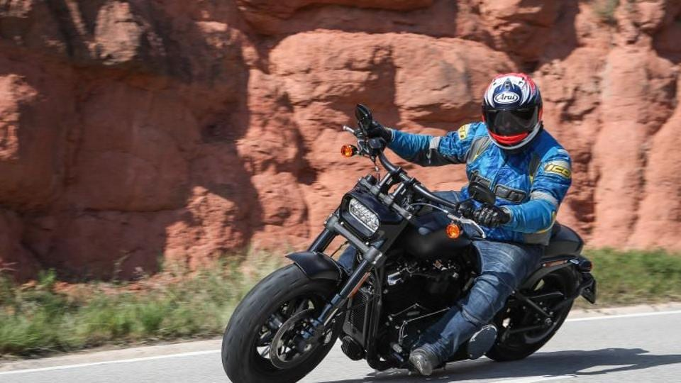 The new Fat Bob was designed for the zombie apocalypse