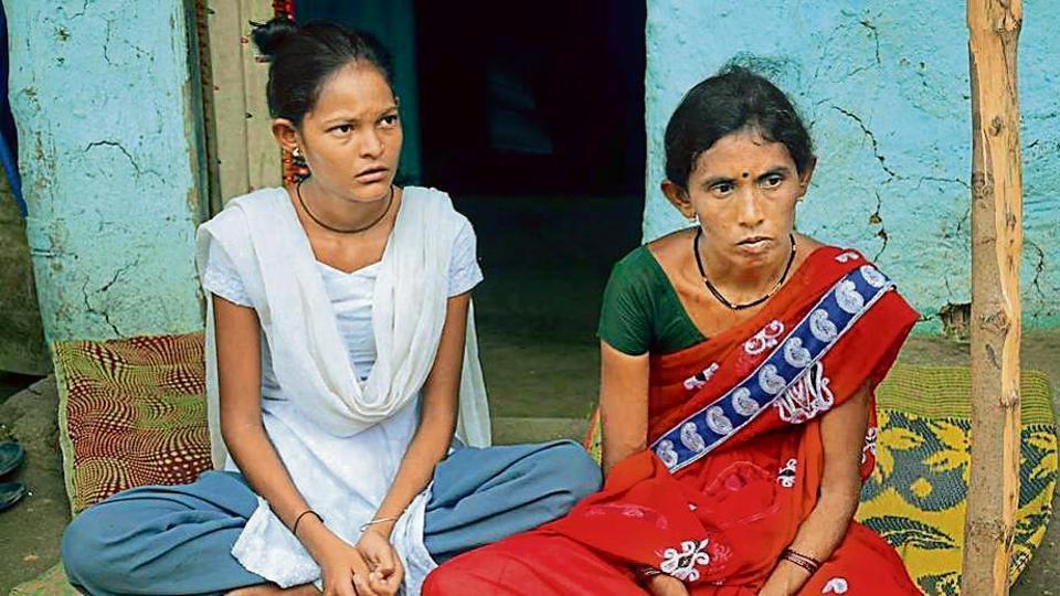 Geeta Bandu Sonule and her daughter are distraught after her husband Bandu Sonule died on September 21.