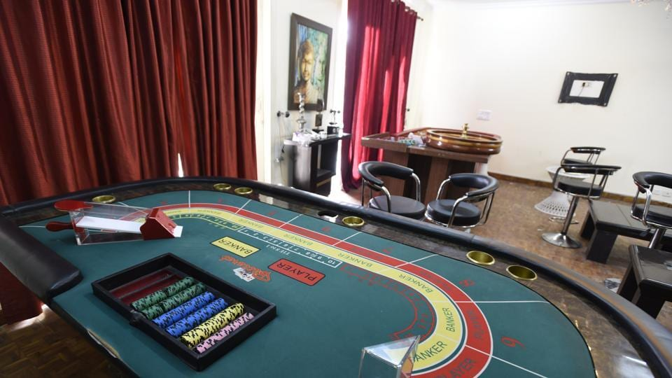 Gurgaon police had busted a casino operating out of a house in Block K, South City-1, on Wednesday night. The police arrested around 43 people and recovered a large amount of cash.