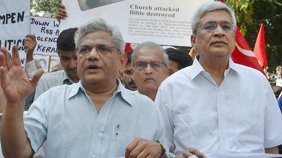 CPI(M),Congress,Sitaram Yechury