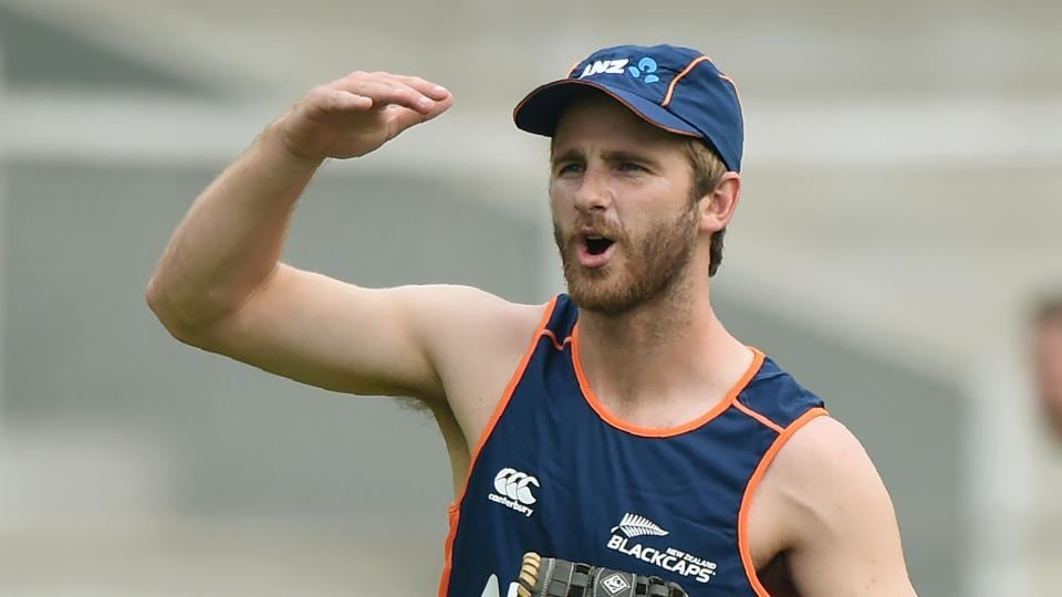 Kane Williamson attended a training session along with several other New Zealand players in Mumbai. (AFP)