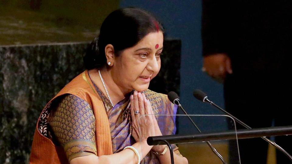 External affairs minister Sushma Swaraj has asked the Indian High Commission in Islamabad to give visas to Naseem Akhtar and Shabbir Ahmed Shah for medical treatment.
