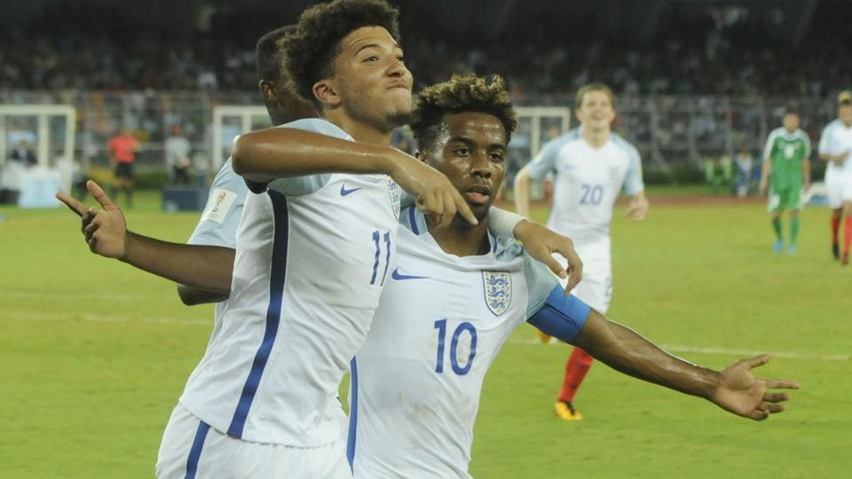 England scored 11 goals in their three matches in Group F of the FIFA U-17 World Cup.