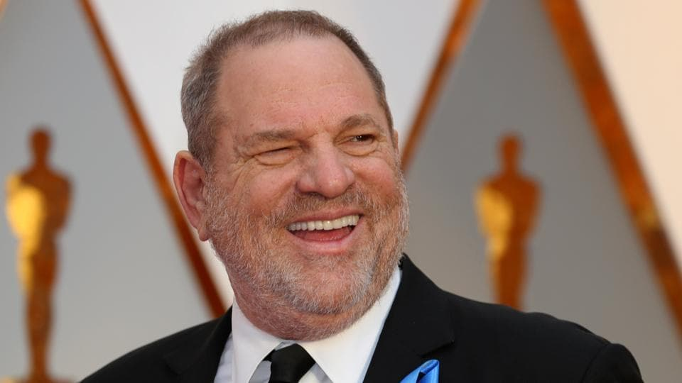 Harvey Weinstein arrives at the 89th Academy Awards in Hollywood, California.