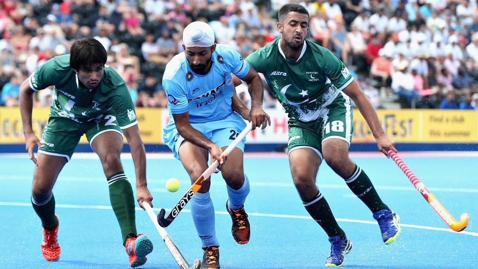 The Indian hockey team will take on Pakistan in the Asia Cup inDhaka on Sunday. India defeated Japan and hosts Bangladesh in their first two pool games.