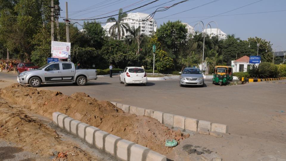 Sohna Road,Gurugram,Built Pavement