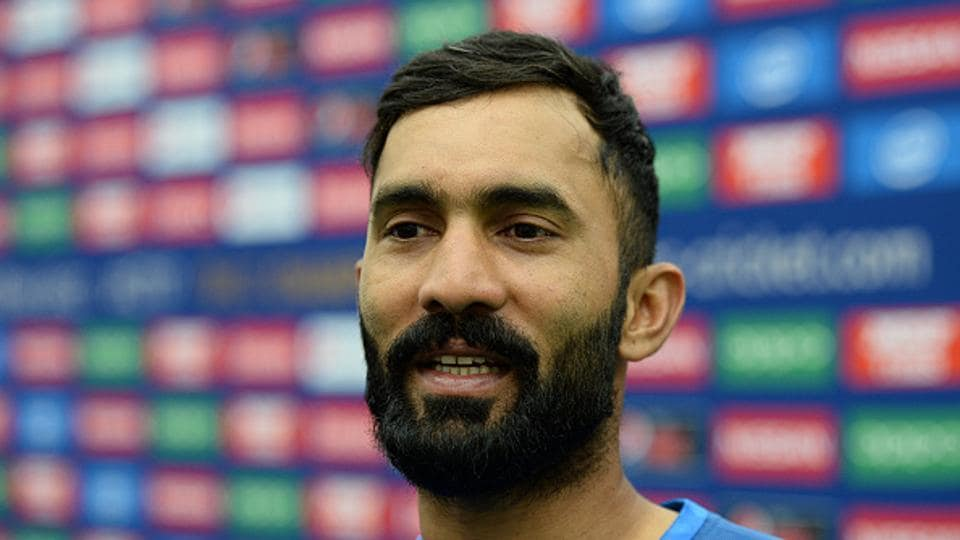 Dinesh Karthik has been named in the India squad for the three-match ODI series against New Zealand starting on October 22.