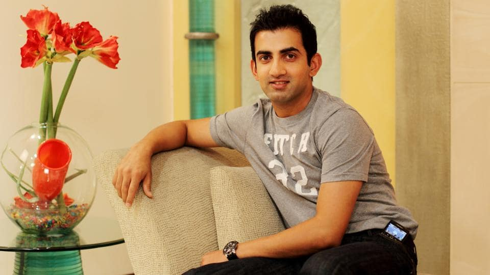 Indian cricketer Gautam Gambhir turned 36 on Saturday.