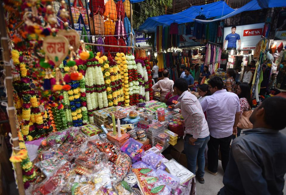Families are looking to ditch fireworks and shop for more decorative items this Diwali.
