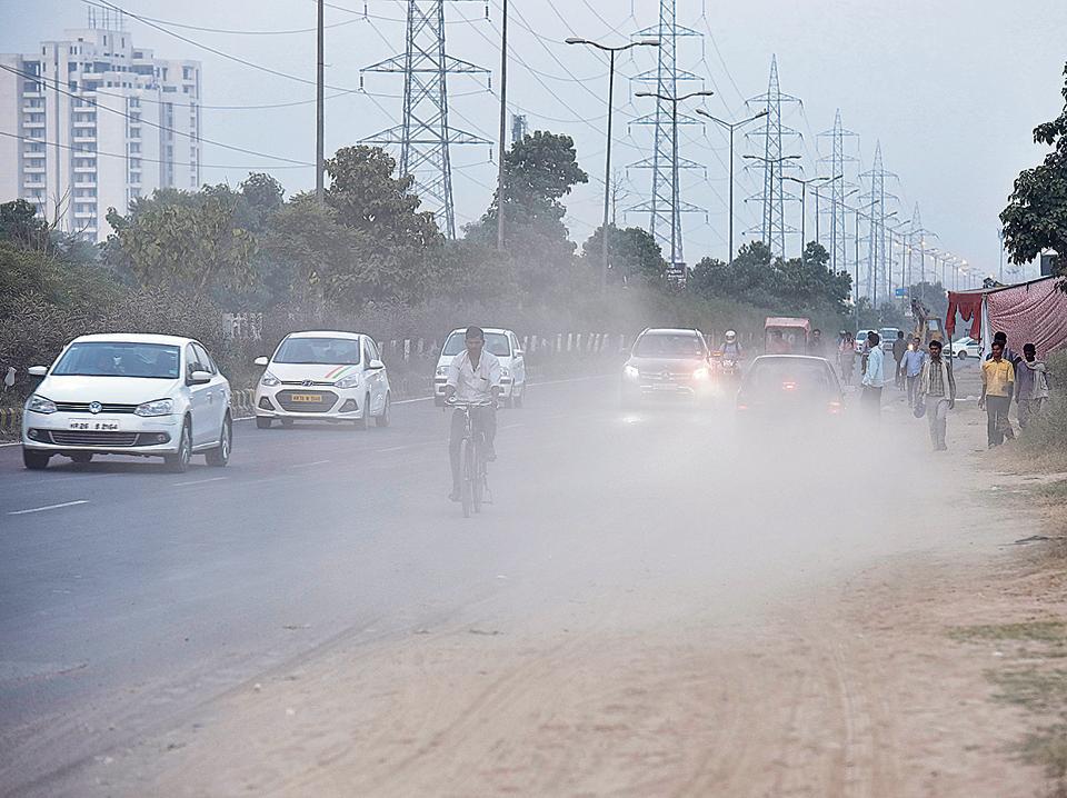air pollution,air quality poor,Gurgaon