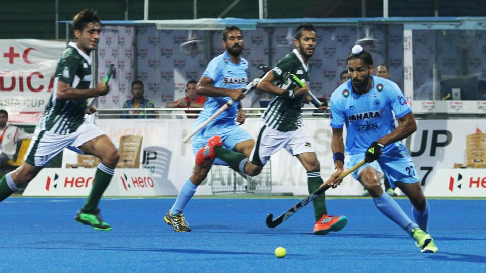 Pakistan got one back as Ali Shaan scored in 49th minute. (Hockey India)
