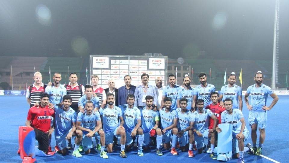 India ultimately won the match 3-1 to top pool A of Asia Cup. (Hockey India)