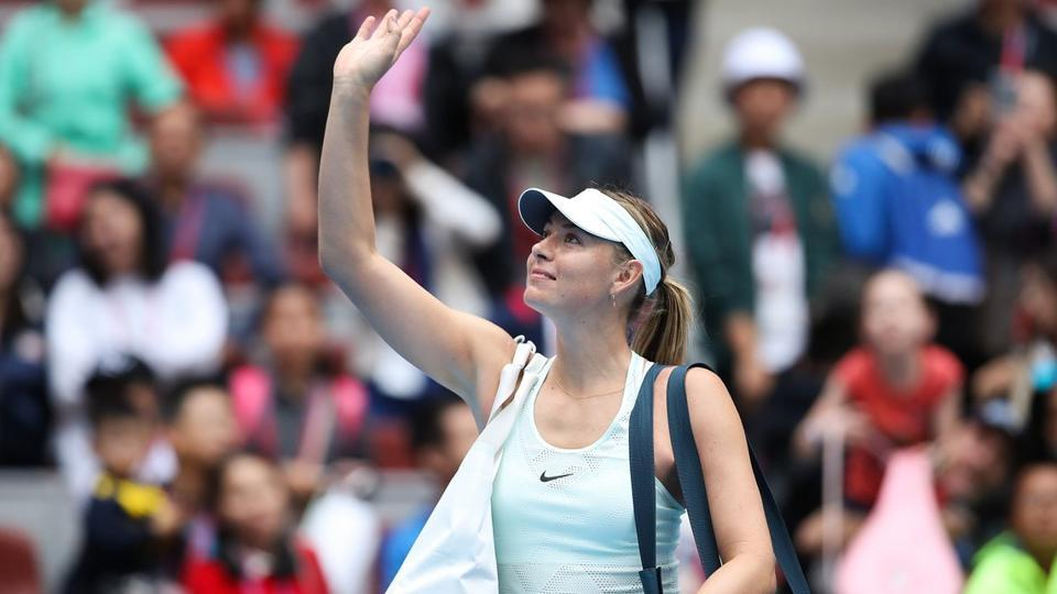 Maria Sharapova,Tianjin Open,Tennis