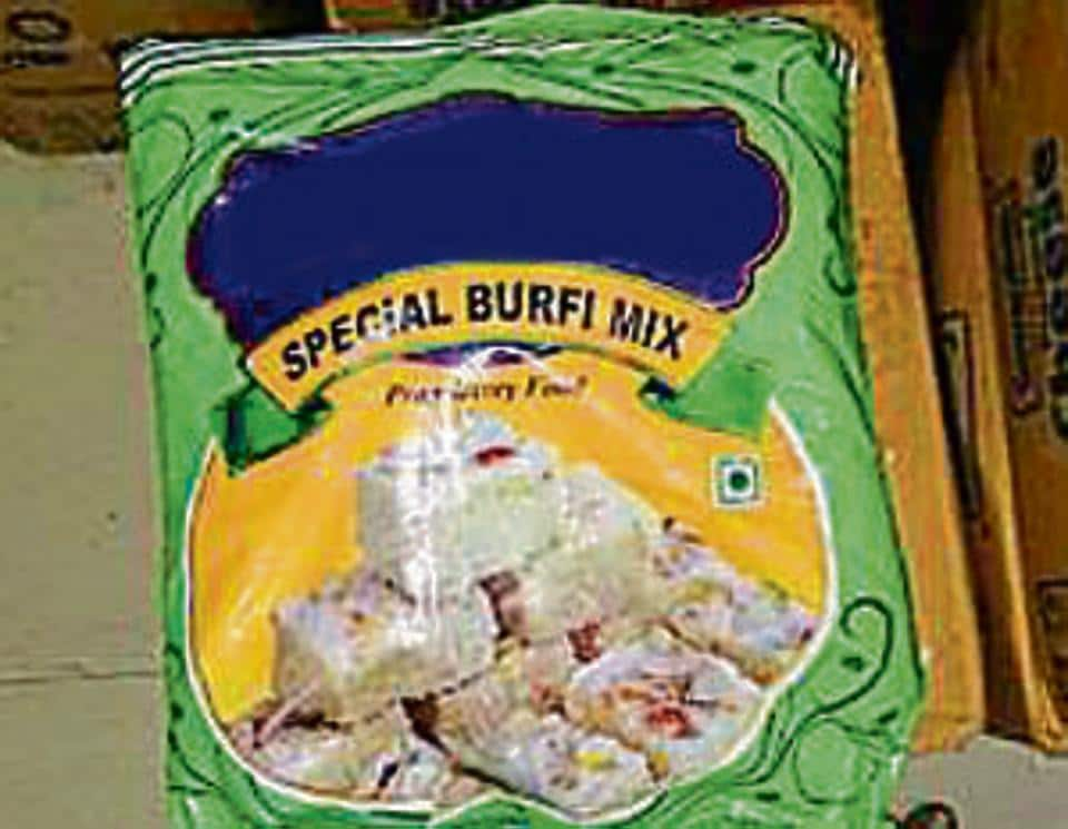 Officials have seized more than 2,44,888kg sweets across Maharashtra.
