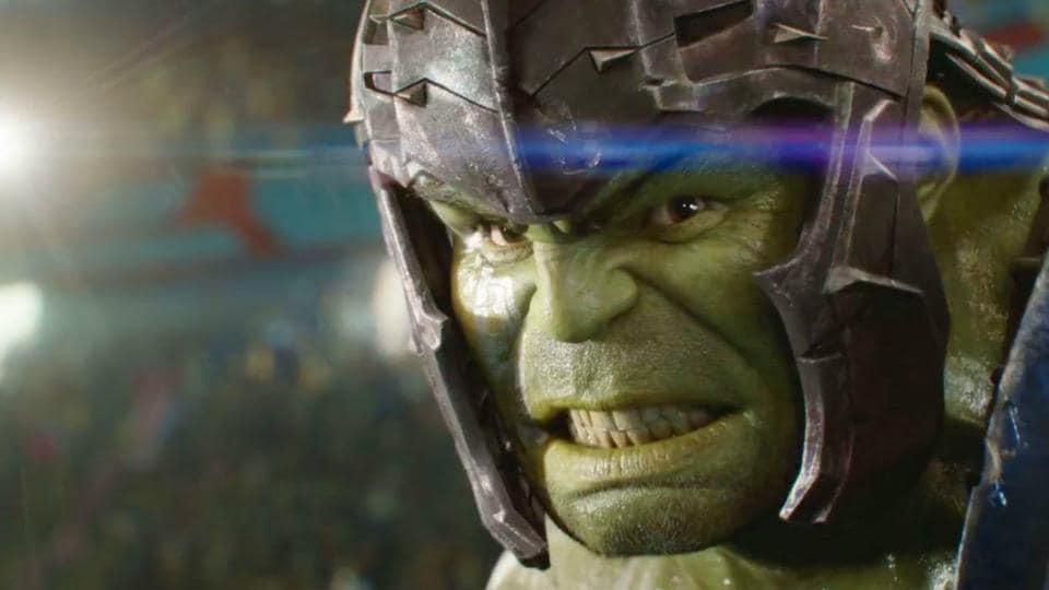 Mark Ruffalo,Hulk,Thor: Ragnarok