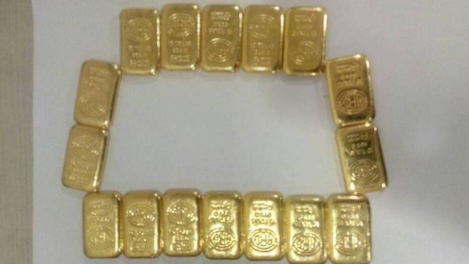 According to officials, many smugglers conceal the gold in their rectums, which makes it difficult for authorities to detect.