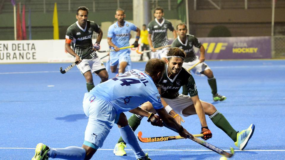 India got two more goals in the third quarter as Ramandeep Singh and Harmanpreet Singh scored. (Hockey India)