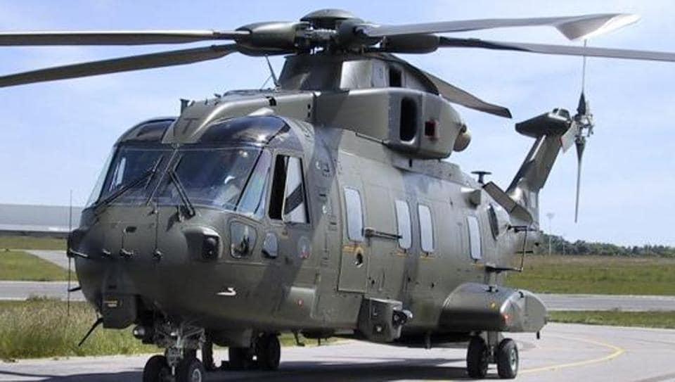Agustawestland AW101 helicopter.