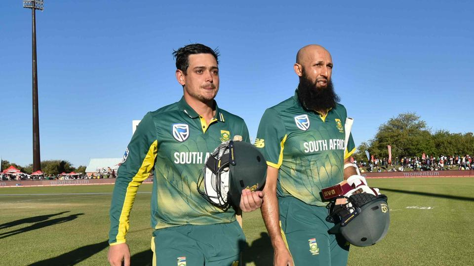Quinton de Kock and Hashim Amla's 282-run opening stand is the best partnership for South Africa in ODIs and it helped them secure a 10-wicket win against Bangladesh in Kimberley.