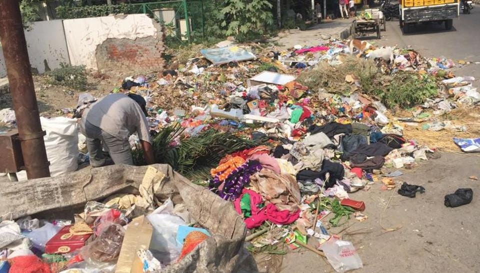 Sector 20,garbage collection centre,Sector 20 Noida