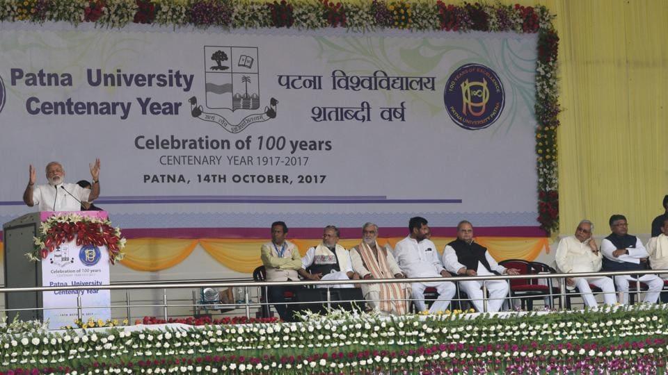 PM Modi,Patna University,Top slot challenge