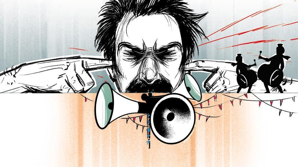 Noise, once just a source of annoyance, has become a full-fledged health hazard for people in this city, say doctors.