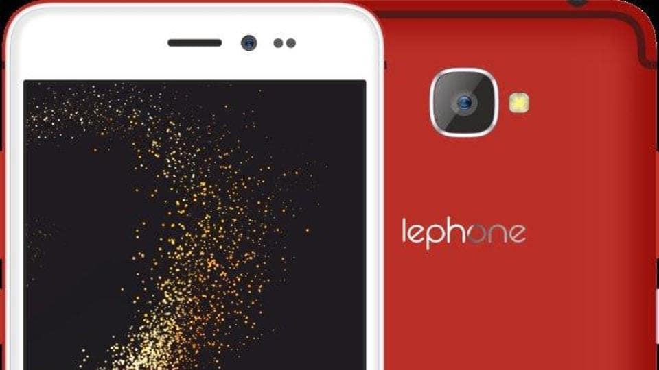 The lephone W15 is available in gold, rose gold, silver, red colour options.