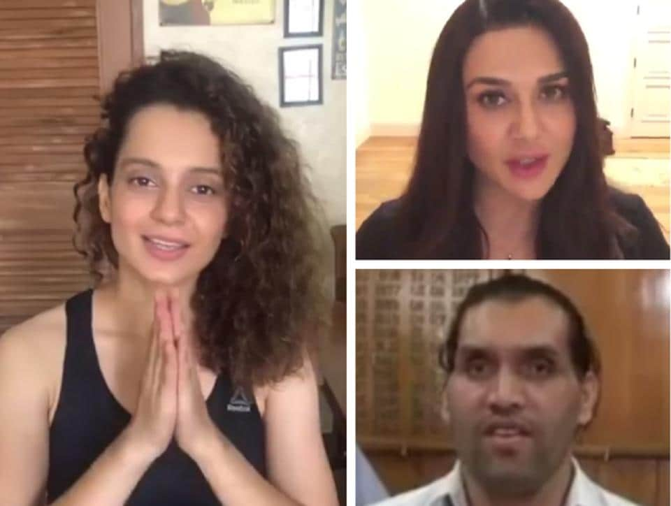Kanagana Ranaut, Preity Zinta and Khali are urging citizens of Himachal Pradesh to get themselves registered.