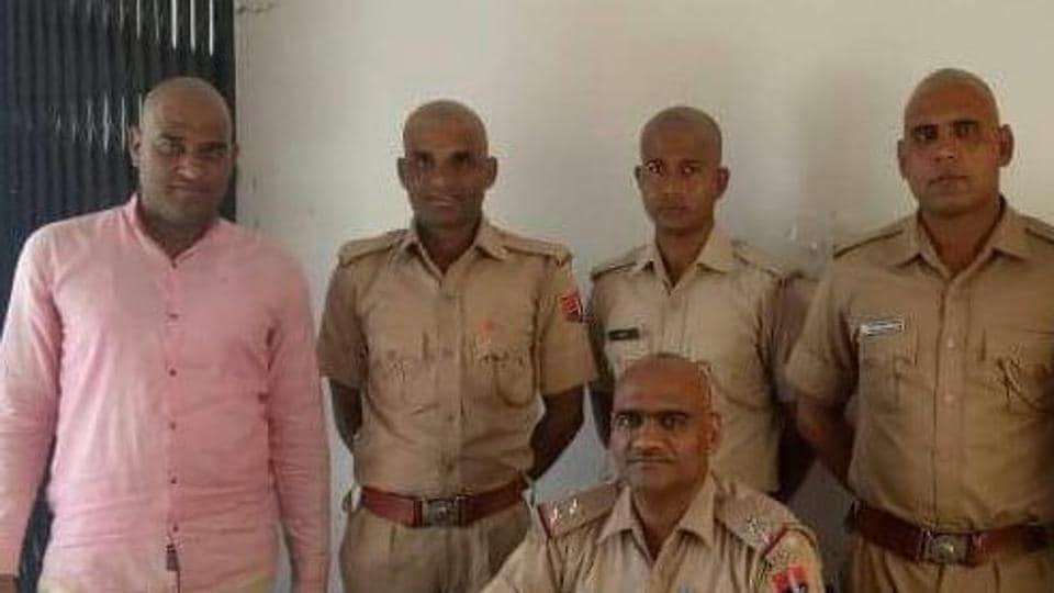 Rajasthan,Jaipur,cop protest
